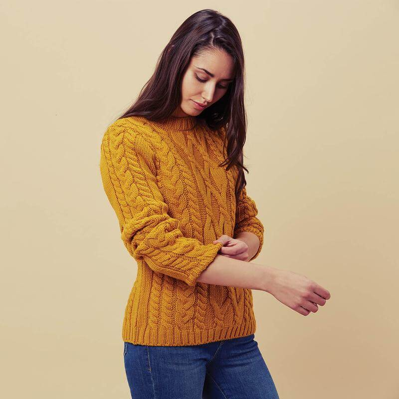 womens cable jumpers